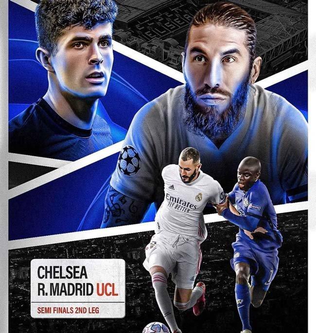 فرم پیش بینی دیدار رئال مادرید و چلسی دور برگشت لیگ قهرمانان آسیا