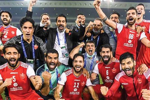 عملکرد پرسپولیس در جام حذفی ایران