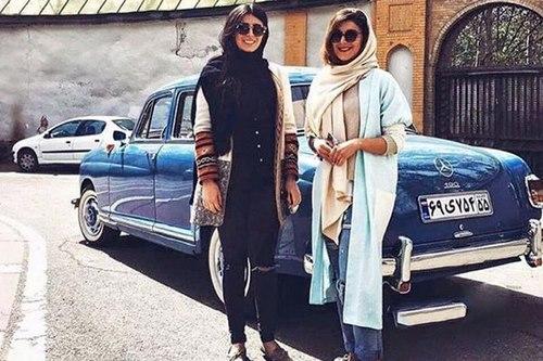 ماشین شاخ های تهران